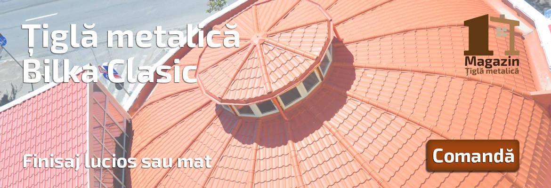 Magazin Tigla Metalica | Tigla metalica Bilka Clasic